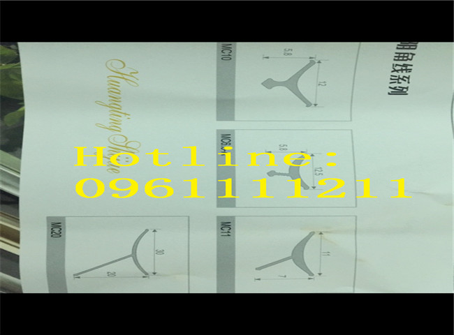 Hình dáng, kích thước, vị trí lắp đặt, kích cỡ tất cả đều hiện diện đầy đủ trong bản vẽ về nẹp nhôm chữ Y cao cấp và uy tín